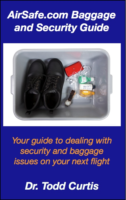 Cover of AirSafe.com Baggage and Security Guide