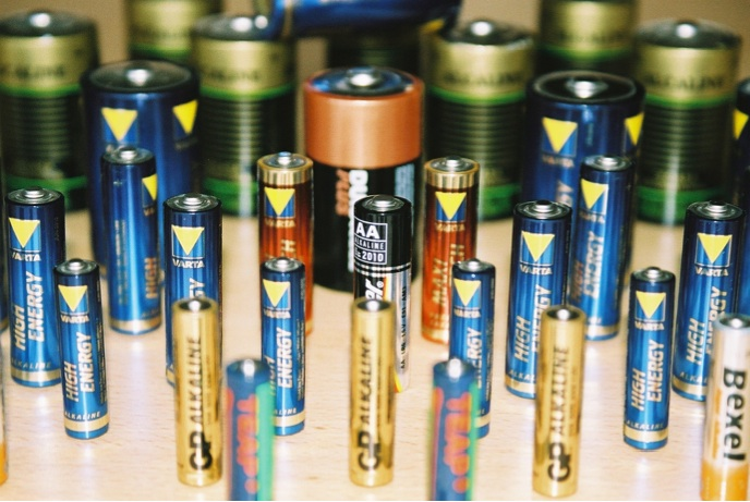 Collection of batteries