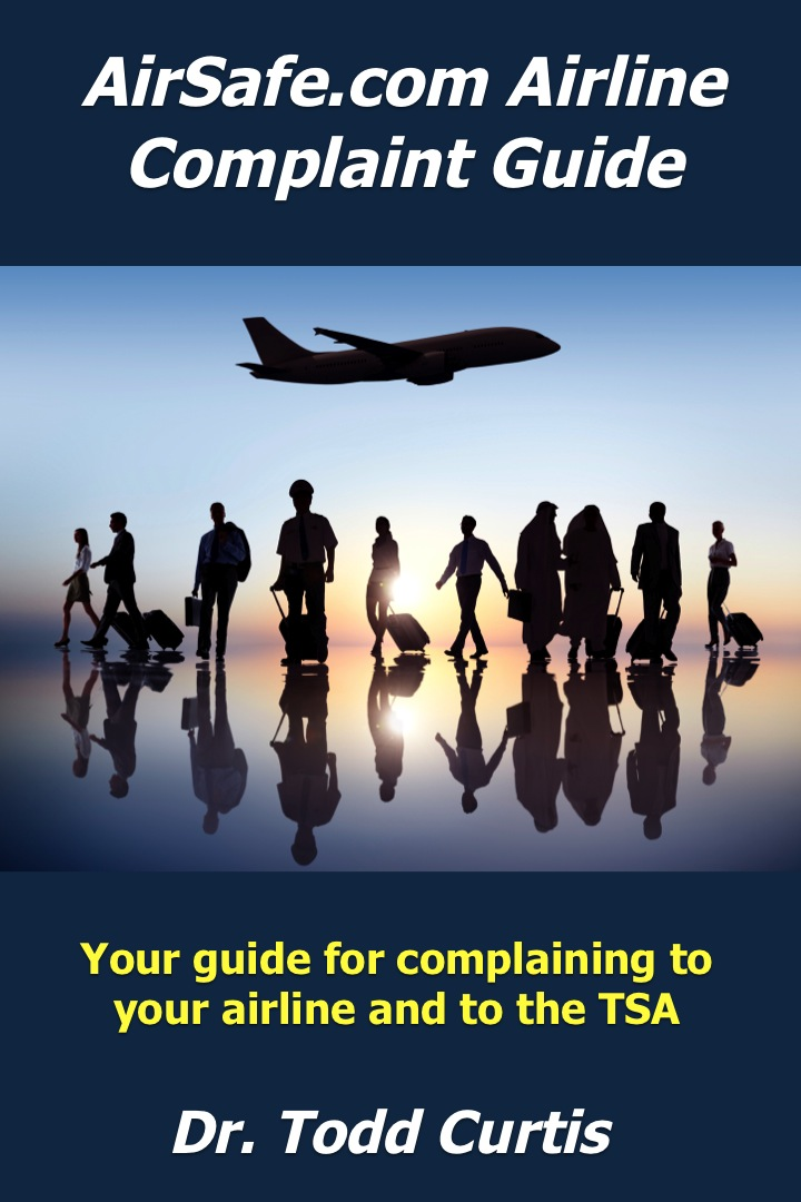 Cover of AirSafe.com airline Complaint Guide