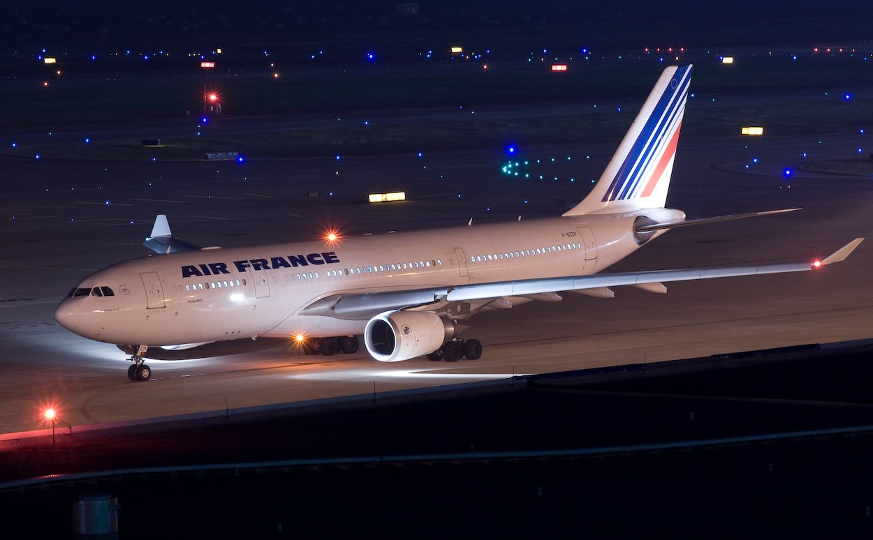 Air France A330 F-GZCE at Houston Intercontinental Airport