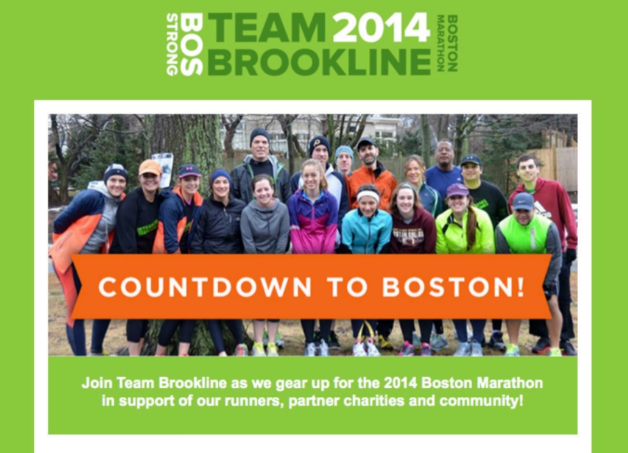Team Brookline group photo