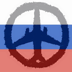 Metrojet A321 as peace symbol